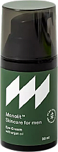 Parfumuri și produse cosmetice Cremă cu ulei de argan pentru pleoape - Monolit Skincare For Men Eye Cream With Argan Oil