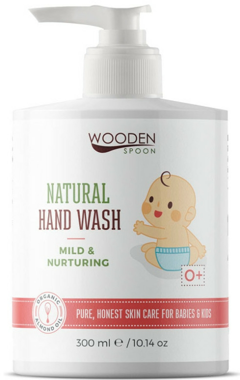 Săpun lichid, pentru copii - Wooden Spoon Natural Hand Wash — Imagine N1