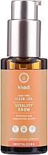 Parfumuri și produse cosmetice Ulei revitalizant pentru păr - Khadi Ayurvedic Vitality Grow Hair Oil