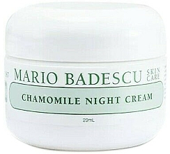 Parfumuri și produse cosmetice Cremă de noapte cu mușețel - Mario Badescu Chamomile Night Cream