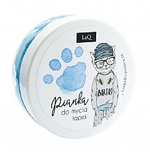 Parfumuri și produse cosmetice Spumă de curățare pentru corp, mâini și păr, albatru - LaQ Cleansing Foam