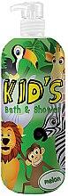 Parfumuri și produse cosmetice Gel-Spumă de baie - Hegron Kid's Melon Bath & Shower