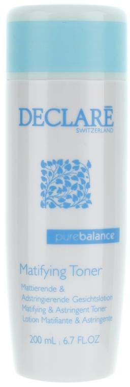 Loțiune pentru față - Declare Pure Balance Matifying & Astringent Toner — Imagine N2