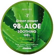 Parfumuri și produse cosmetice Gel calmant cu aloe - Dewytree Green Power Aloe Soothing Gel