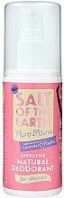Parfumuri și produse cosmetice Spray-Deodorant natural - Salt of the Earth Pure Aura Natural Deodorant Spray