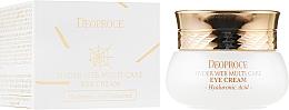 Parfumuri și produse cosmetice Cremă cu proteine din pânză de păianjen pentru ochi - Deoproce Spider Web Multi-Care Eye Cream