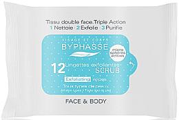 Parfumuri și produse cosmetice Șervețele umede pentru față - Byphasse Exfoliating Wipes All Skin Type