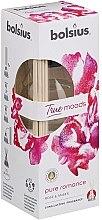 """Parfumuri și produse cosmetice Difuzor de aromă """"Trandafir și chihlimbar"""" - Bolsius Fragrance Diffuser True Moods Pure Romance"""