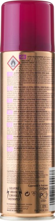 Lac fixativ de păr extra puternic - Constance Carroll Control Hair Spray Extra Hold — Imagine N4