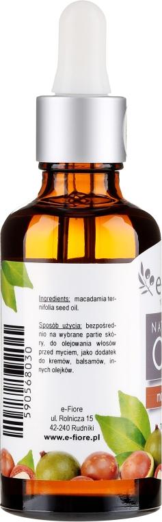 Ulei de Macadamia - E-Fiore Natural Oil — Imagine N2