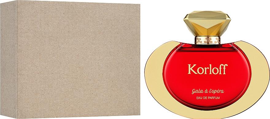 Korloff Paris Gala A L'Opera - Apă de parfum (tester cu capac) — Imagine N2