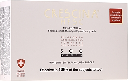 Parfumuri și produse cosmetice Fiole pentru stimularea creșterii părului, femei - Crescina HFSC Re-Growth Anti-hair Loss 500