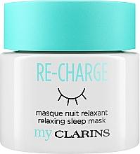 """Parfumuri și produse cosmetice Mască de noapte pentru față """"Relax"""" - Clarins My Clarins Re-Charge Relaxing Sleep Mask"""