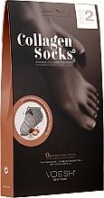 Parfumuri și produse cosmetice Mască cu colagen pentru picioare - Voesh Collagen Socks Value Pack