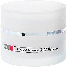 Parfumuri și produse cosmetice Cremă pentru gât și decolteu - Hyamatrix Neck and Decollete Cream