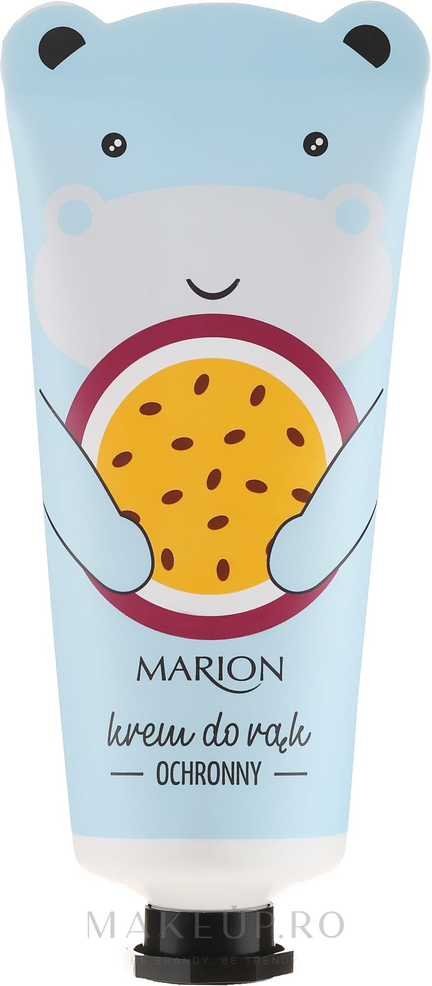 Cremă cu mango și ulei de maracuja pentru mâini - Marion Protective Hand Cream — Imagine 50 ml