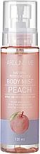 """Parfumuri și produse cosmetice Spray de corp """"Piersică"""" - Welcos Around Me Natural Perfume Vita Body Mist Peach"""