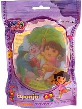 """Parfumuri și produse cosmetice Burete de baie pentru copii """"Dora"""", 169-14, galbenă - Suavipiel Dora Bath Sponge"""