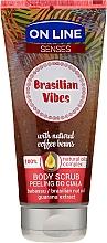 Parfumuri și produse cosmetice Scrub pentru corp - On Line Senses Body Scrub Brasilian Vibes