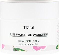 Parfumuri și produse cosmetice Balsam de corp - Tizmi Total Body Balm Peonia & Wanilia