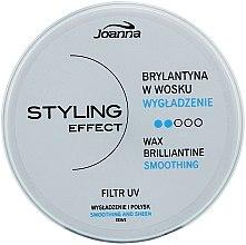 Parfumuri și produse cosmetice Brilliantine Ceară de păr - Joanna Styling Effect Wax Brilliantine