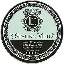 Parfumuri și produse cosmetice Argilă mată de păr pentru bărbați, fixare puternică - Lavish Care Styling Mud Extra Matte Hold