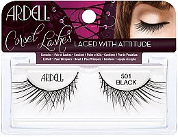 Parfumuri și produse cosmetice Extensii gene - Ardell Lashes Corset Collection Black 501
