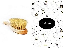 Parfumuri și produse cosmetice Set - LullaLove Princess (hair brush + muslin)