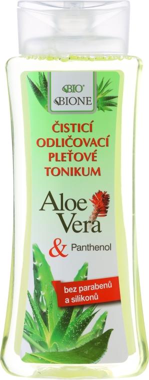 Tonic demachiant - Bione Cosmetics Aloe Vera Soothing Cleansing Make-up Removal Facial Tonic — Imagine N1