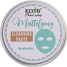 Parfumuri și produse cosmetice Pastă de curățare pentru față - ECO U Mattifying Cleansing Paste For Oily Skin
