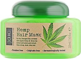"""Parfumuri și produse cosmetice Mască pentru păr """"Cânepă"""" - Xpel Marketing Ltd Hair Care Hemp Hair Mask"""