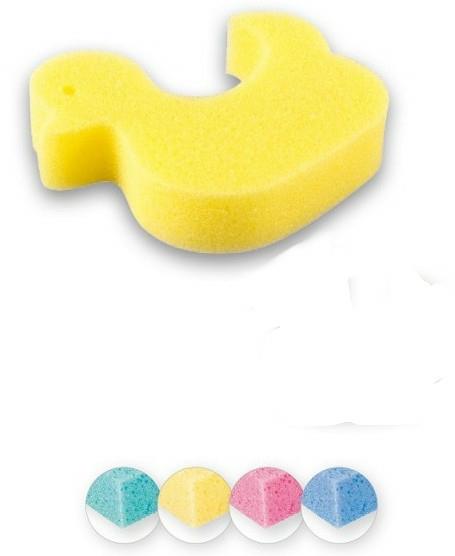 """Burete de baie """"Rățușcă"""", pentru copii, galbenă - Top Choice"""