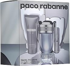 Parfumuri și produse cosmetice Paco Rabanne Invictus - Set (edt/100ml + edt/10ml + sh/gel/75ml)