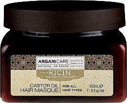 Parfumuri și produse cosmetice Mască pentru creșterea părului - Arganicare Castor Oil Hair Masque