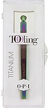 Parfumuri și produse cosmetice Set - O.P.I. Tooling Dexterity Titanium (tool/1pcs+cuticule/treat/30ml)