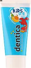 """Parfumuri și produse cosmetice Pastă de dinți pentru copii """"Tutti Frutti"""" - Dentica Dental Protection For Kids"""