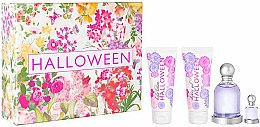 Parfumuri și produse cosmetice Jesus Del Pozo Halloween - Set (edt/100ml + b/l/100ml + sh/g/100ml + mini/4.5ml)