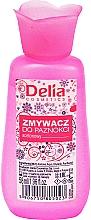 Parfumuri și produse cosmetice Dizolvant pentru lac de unghii - Delia No1 Nail Polish Remover