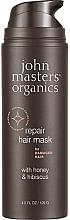 """Parfumuri și produse cosmetice Mască regenerantă pentru păr """"Miere și Hibiscus"""" - John Masters Organics Honey & Hibiscus Mask"""