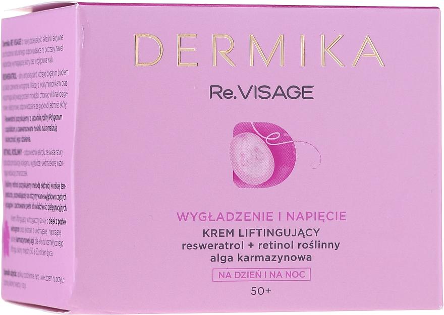 Cremă-lifting de față 50+ - Dermika Re.Visage — Imagine N2