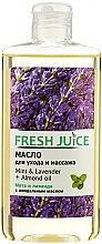 """Parfumuri și produse cosmetice Ulei de corp """"Mentă. Lavandă. Migdale"""" - Fresh Juice Energy Mint&Lavender+Almond Oil"""