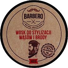 Parfumuri și produse cosmetice Ceară pentru barbă - Barbero Beard Care Wax