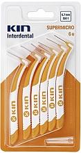 Parfumuri și produse cosmetice Perie interdentară 0,7 mm - Kin Supermicro ISO 1