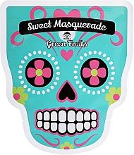 Parfumuri și produse cosmetice Mască de țesut pentru față - Dr Mola Sweet Masquarade Green Fruits mask