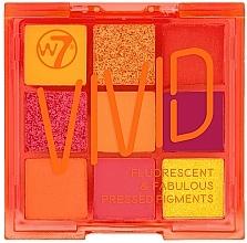 Parfumuri și produse cosmetice Paletă farduri de ochi - W7 Vivid Fluorescent & Fabulous Pressed Pigments