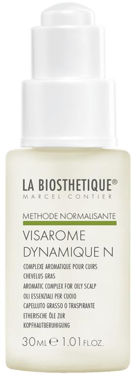 Loțiune de păr cu uleiuri esențiale - La Biosthetique Methode Normalisante Visarome Dynamique N — Imagine N1