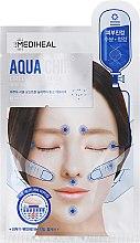 Parfumuri și produse cosmetice Mască calmantă pentru față - Mediheal Aqua Chip Circle Point Mask
