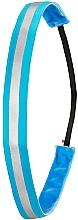 Parfumuri și produse cosmetice Bandă pentru cap, albastru neon - Ivybands Neon Blue Reflective Hair Band