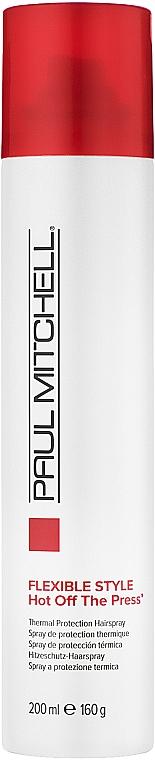 Spray- fixator cu protecție termică - Paul Mitchell Express Style Hot Off The Press — Imagine N1