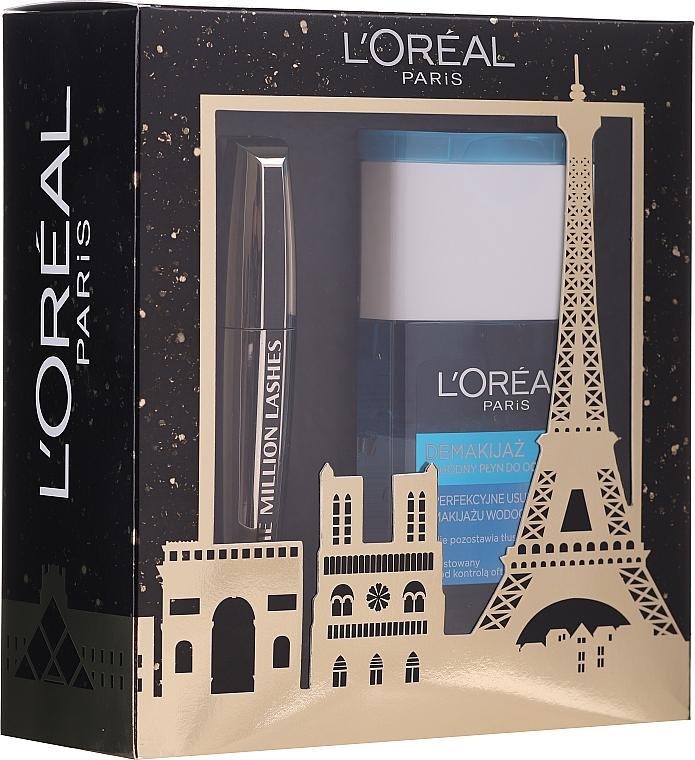 Set - L'oreal Paris Make-up Set (mascara/10.7ml + demaquillant/125ml) — Imagine N1